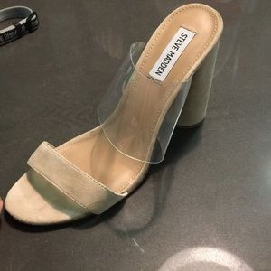 efbb95b1b88 Steve Madden Shoes - Steve Madden cheers heeled slide